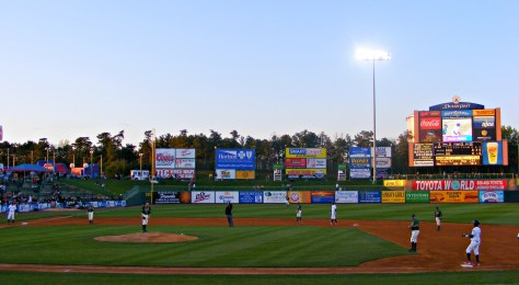 Bottom of the 3rd at the Lakewood BlueClaws First Energy Park. | new jersey minor league baseball teams | nj minor league baseball teams | minor league baseball in new jersey | minor league baseball in nj