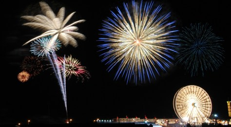 Many communities around New Jersey have summer fireworks displays planned. | july 4th fireworks in nj | july 4th fireworks in new jersey | fourth of july fireworks in nj | fourth of july fireworks in new jersey | summer fireworks displays in nj | fireworks on the beach in nj