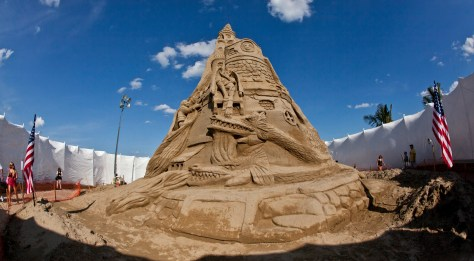 Each summer the Jersey shore hosts several sandcastle building competitions. | nj sandcastle competitions | new jersey sandcastle competitions | jersey shore sandcastle building competitions | sandcastle building competitions in nj