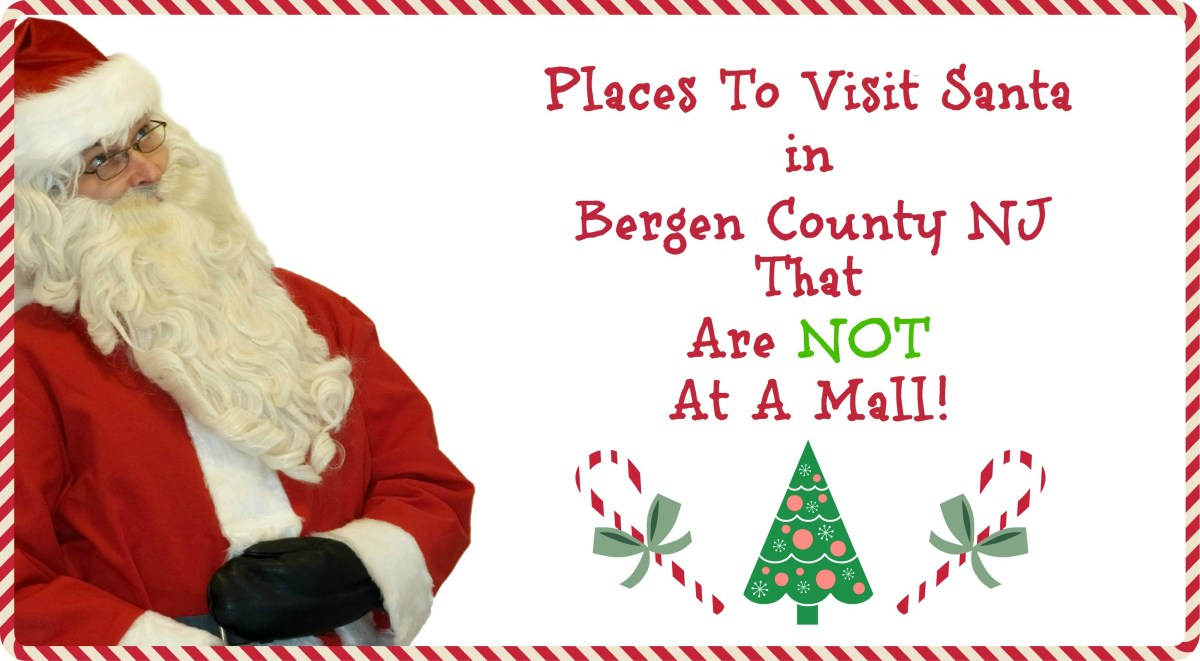 Places to Visit Santa in Bergen County NJ That Are NOT A Mall!