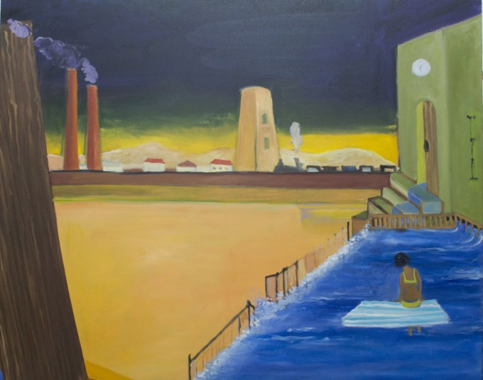 """""""Moving in with de Chirico"""""""