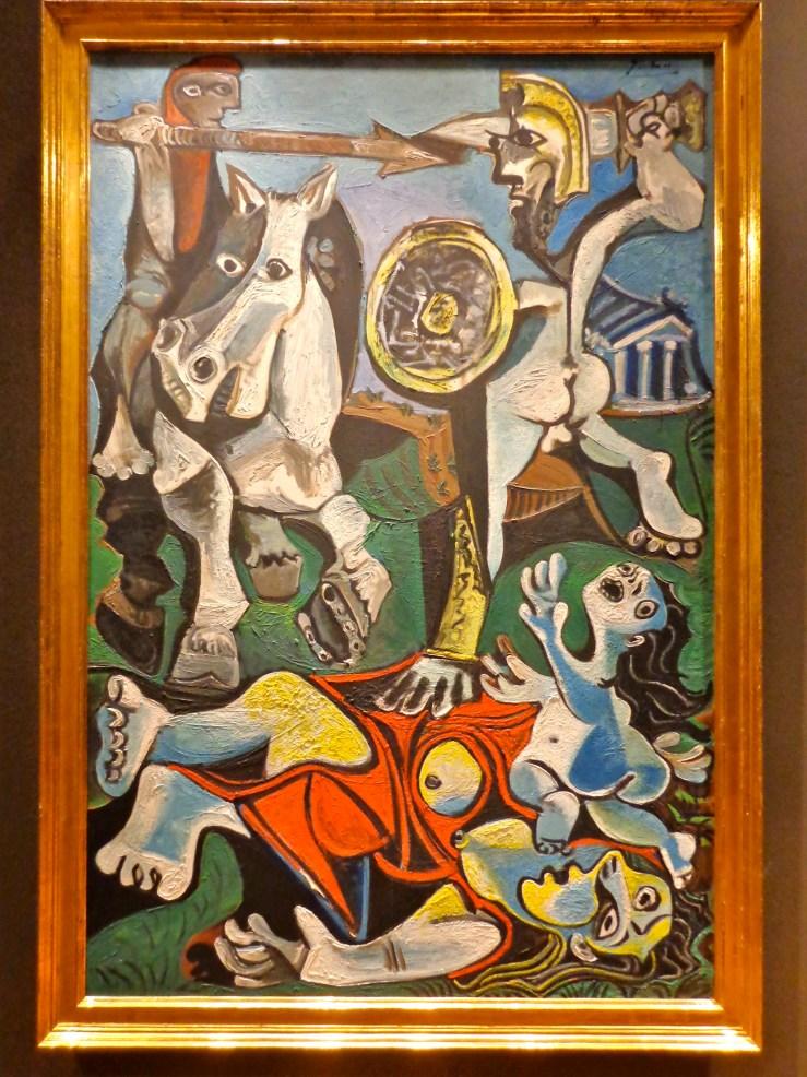 "Pablo Picasso, ""Rape of the Sabine Women,"" 1963"