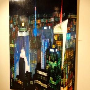 "Oil on Canvas, 68"" x 48"""
