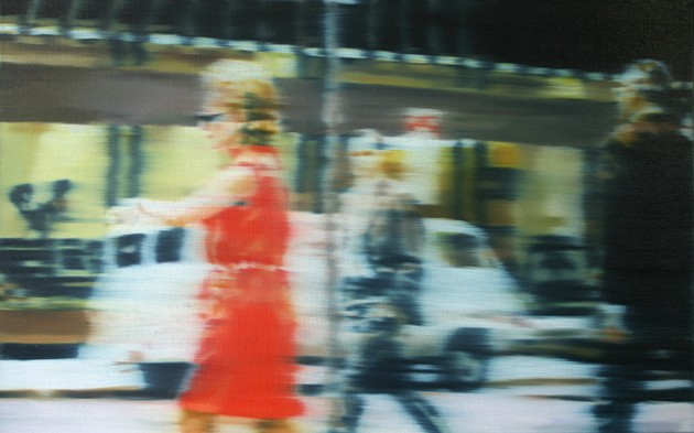 Red Dress, 2007 Oil On Canvas
