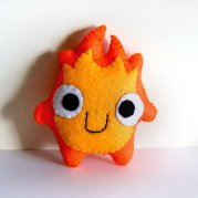 calcifer plush toy
