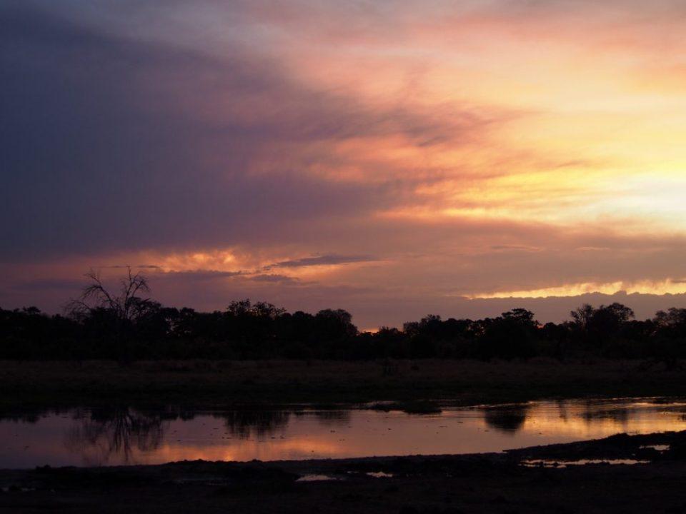 Sunset, Botswana