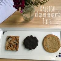 A Birthday Dessert Tour in Raleigh