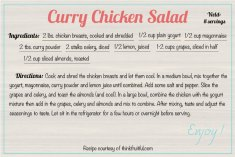 curry-chicken-salad recipe
