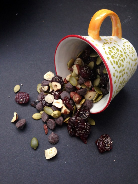 sophisticated trail mix