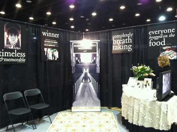 Good bridal show booth design
