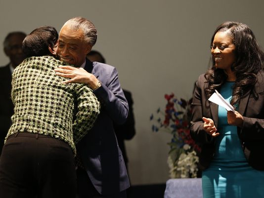 Convicted vote cheater Melowese Richardson applauded by Al Sharpton and Democrat State Rep. Alicia Reece