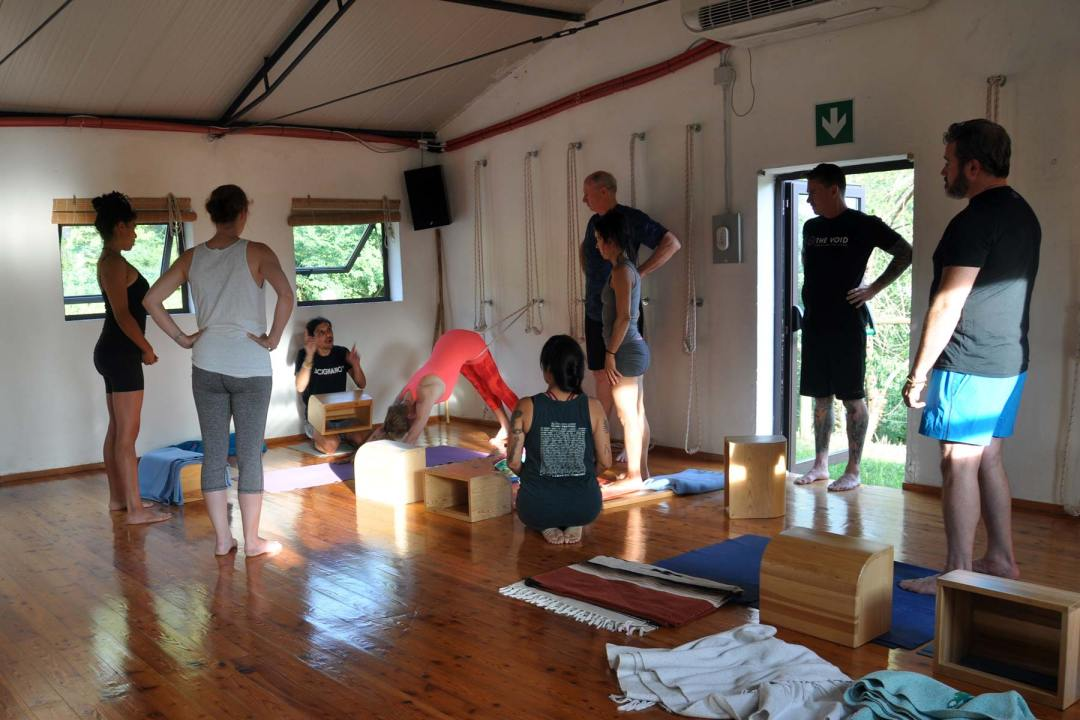 Yoga Workshop with Jerry in Tuscany
