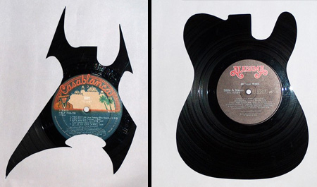 art made of vinyl records (12)