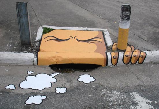 smokingstreetart