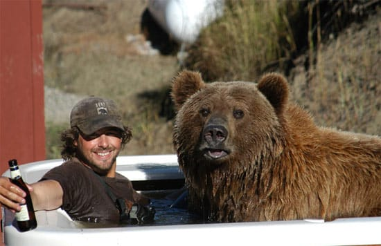 man-and-bear-bath