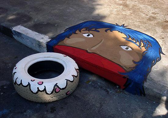 street-art-donut