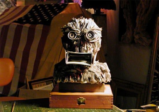 newspaper-sculpture-head