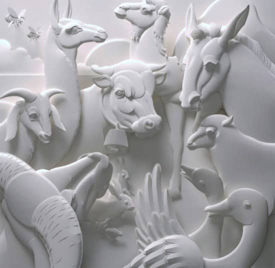 paper-art-animals