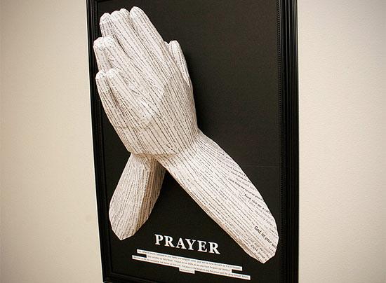 prayer-paper-sculpture