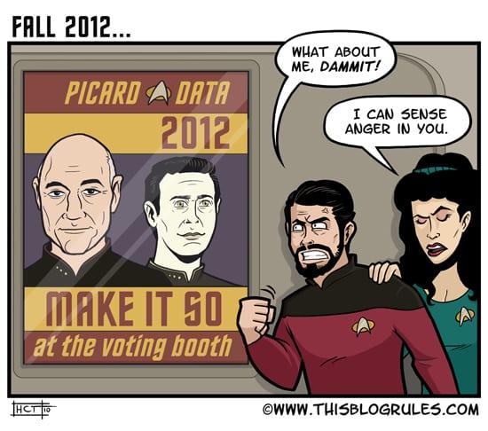 Jean-Luc Picard comic