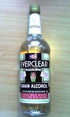 Everclear-alcohol