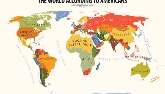 The World According to Americans1
