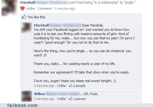 Facebook Caught Cheating