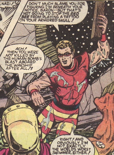 Bad Times in Comics:  Weird Superheroes and Villains And Red Bee