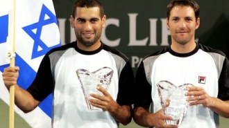 Grand Slam duo Andy Ram & Jonathan Erlich