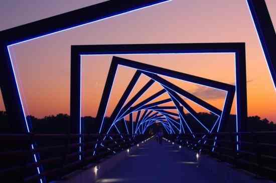High Trestle Bridge, U.S