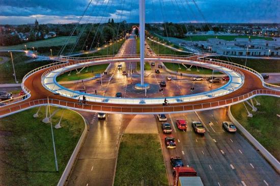 Hovenring, The Netherlands