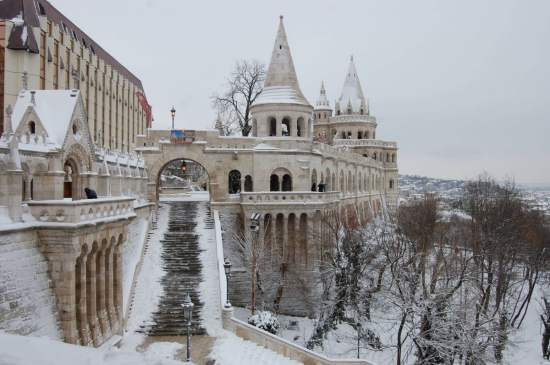 Hungary Budapest. Fisherman's Bastion