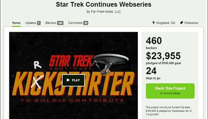 star trek continues