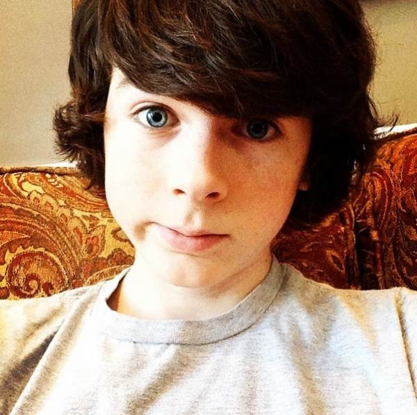 Hard to decide if Carl Grimes character played by Chandler Riggs is worse than Joffrey Baratheon.