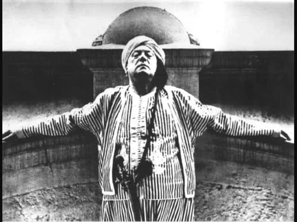 Aleister Crowley invented a whole system of magic and a new religion.
