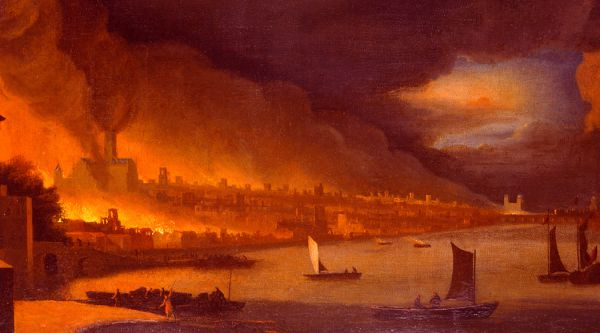 The Great Fire of London was one of the first predictions to come true.