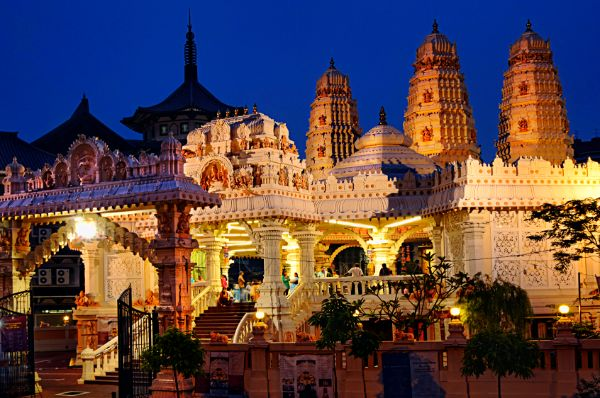 Sri Sivan Temple Is One Of The Most Beautiful Temples In Asia