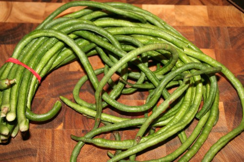 Yardlong Beans - Vegetables That You Know Nothing About