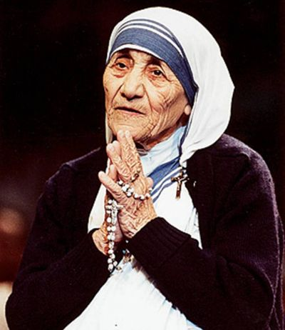 Most Influential Women in History - Mother Theresa