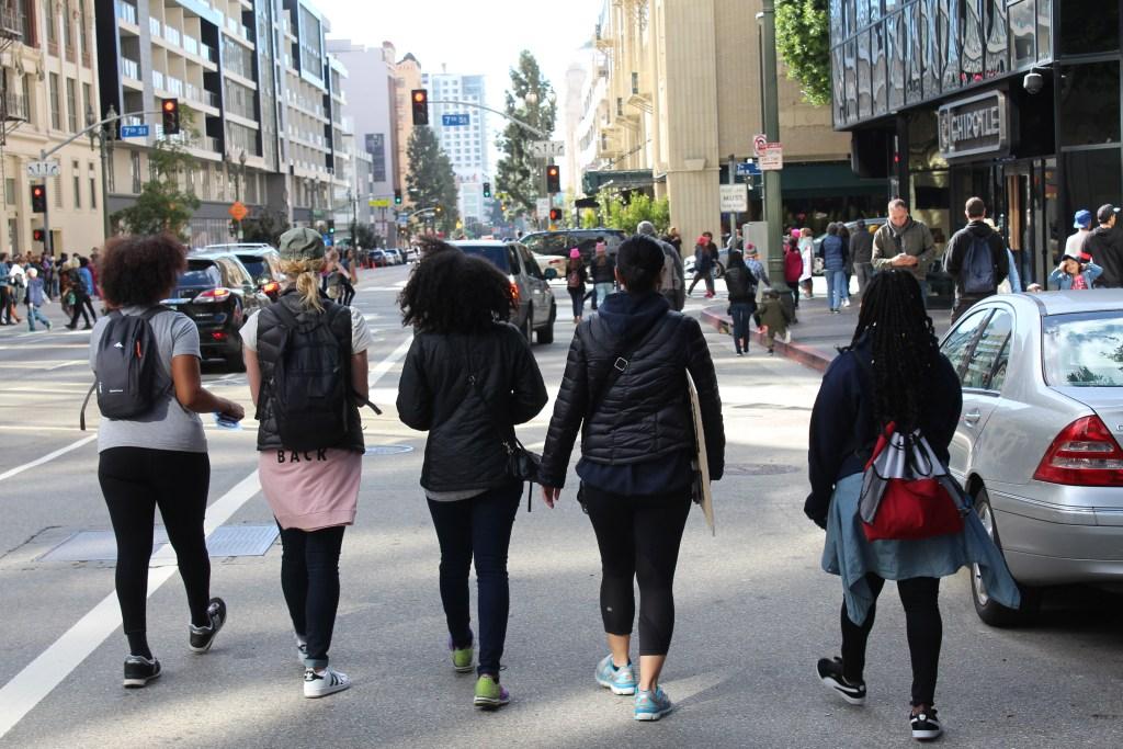 The Power of Women! Women's March LA