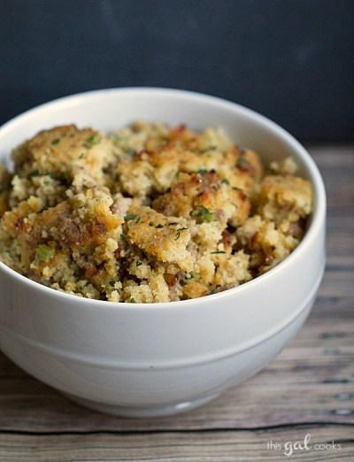 Cast Iron Buttermilk Cornbread Recipe | This Gal Cooks