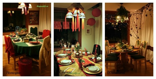 3 tablescapes