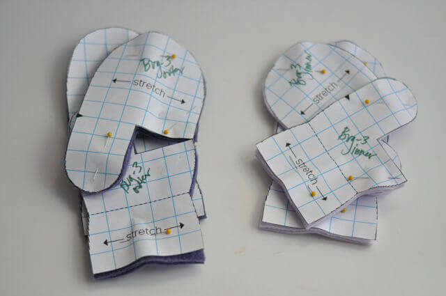 Mittens Sewing Pattern Images - origami instructions easy for kids