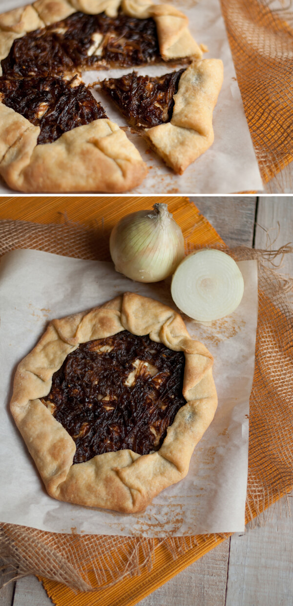 Caramelized Onion Galette | this heart of mine