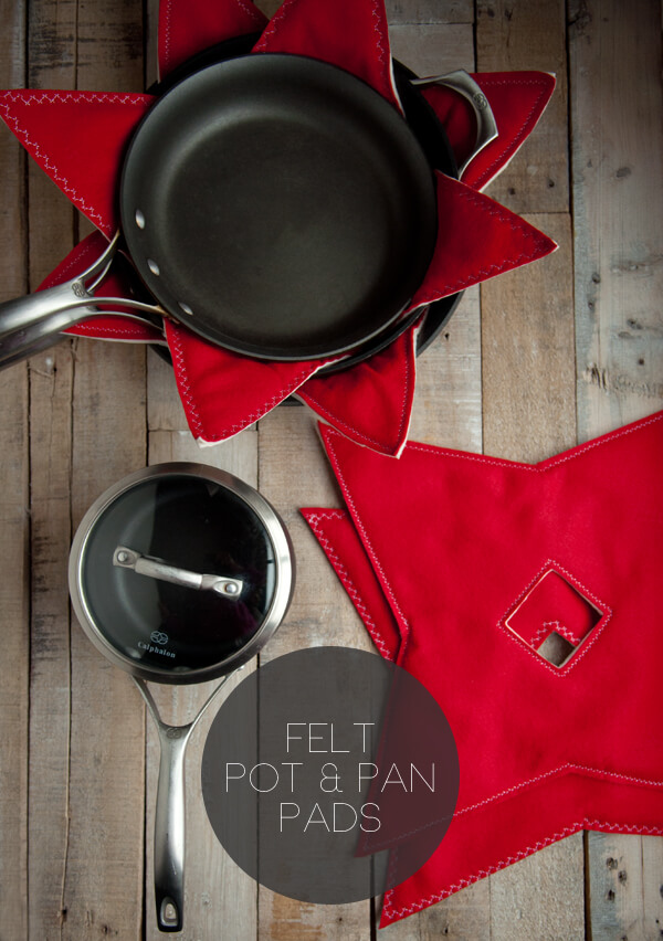 Felt Pot & Pan Pads | this heart of mine