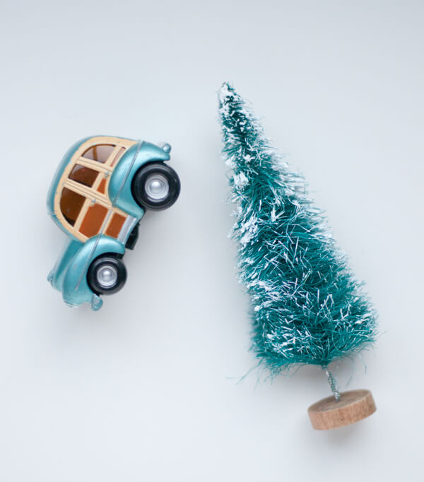 Car & Tree Ornament | this heart of mine