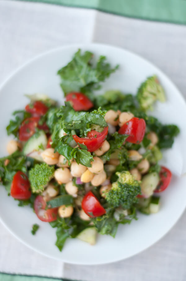 Kale Salad | this heart of mine