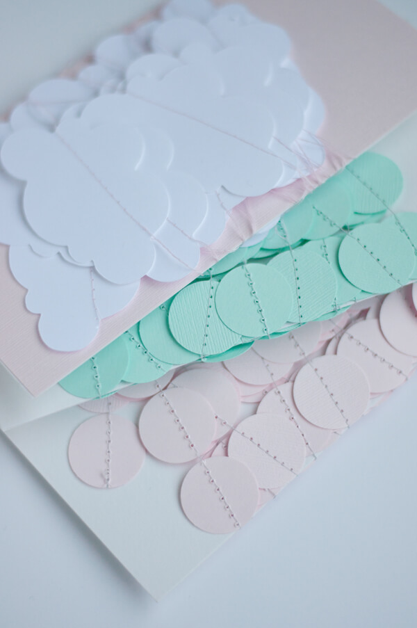 Garlands for a Baby Shower! | this heart of mine