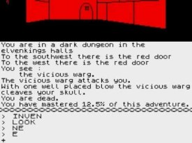The Hobbit Game Text