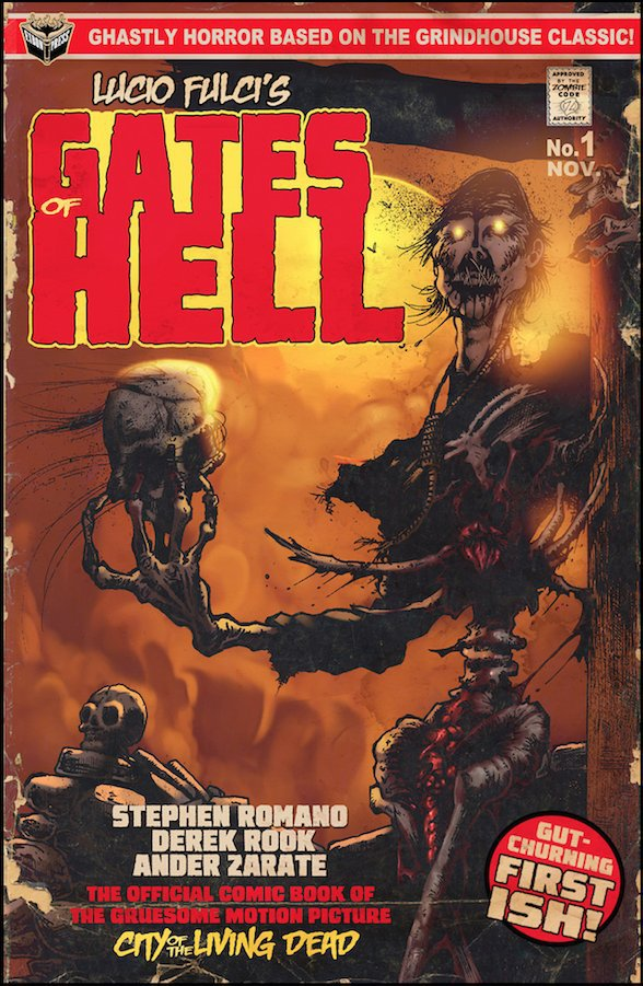 Gates of Hell comic